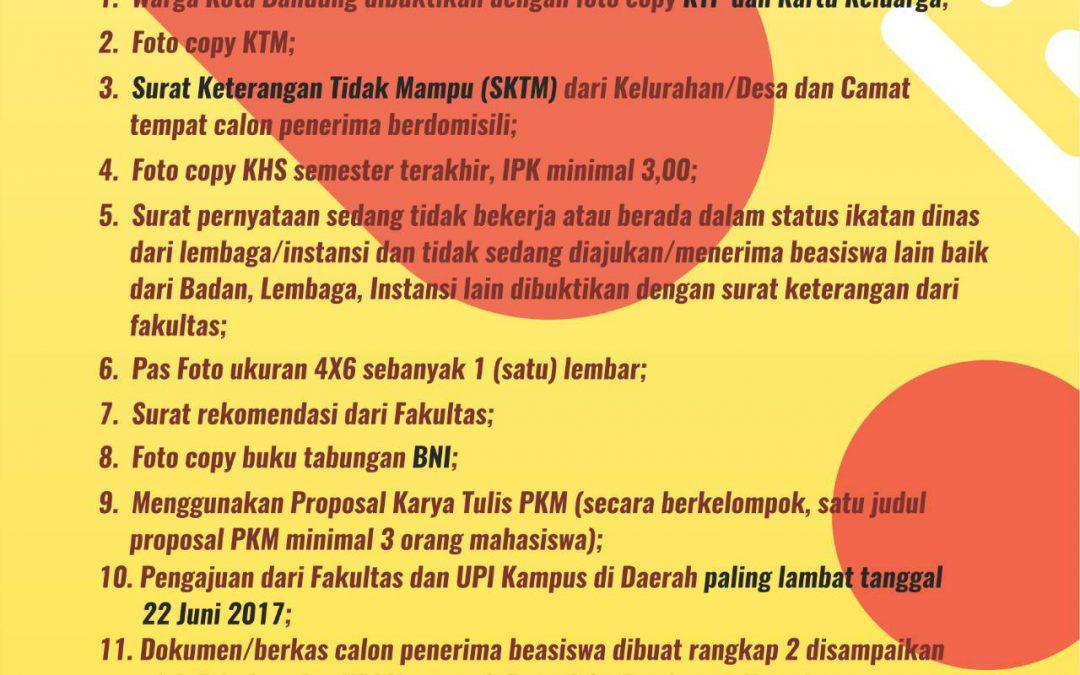 Info Beasiswa BAWAKU