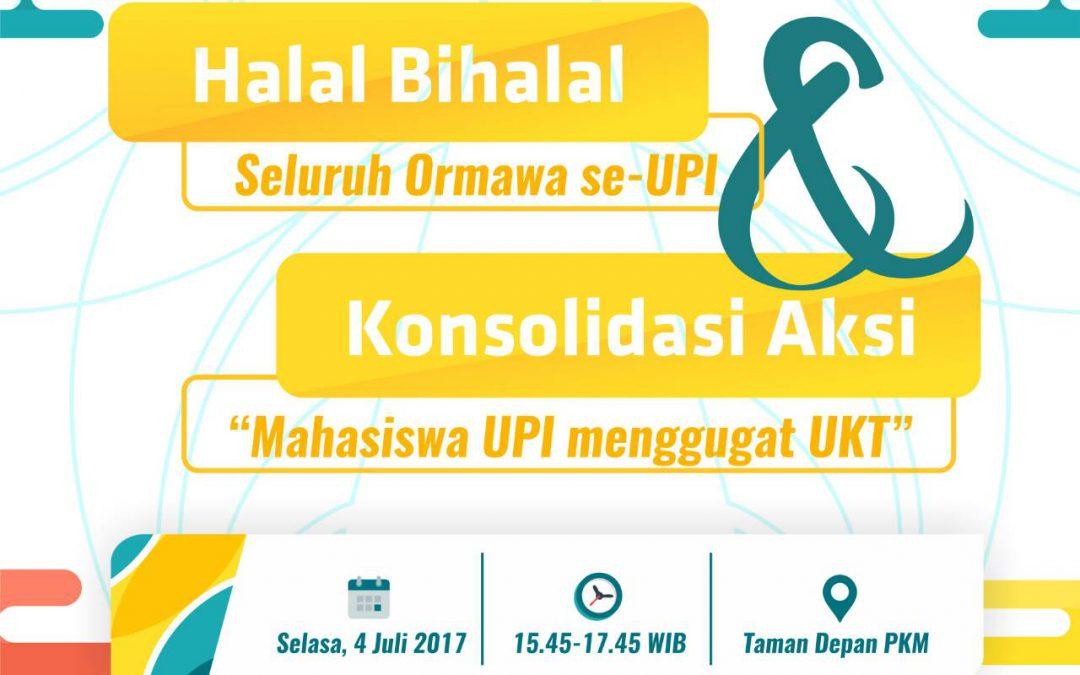 Undangan Halal Bihalal dan Konsolidasi UKT