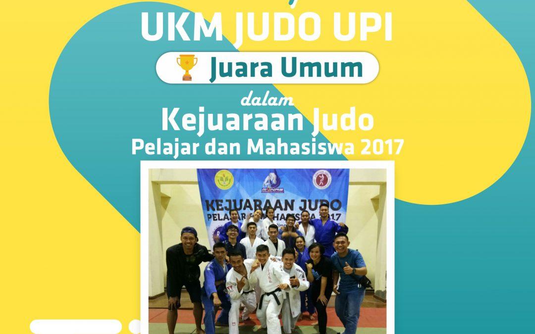 Judo UPI Juara Umum Lagi