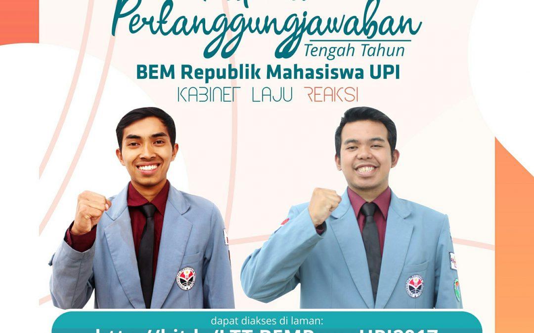 Laporan Tengah Tahun BEM Rema UPI 2017