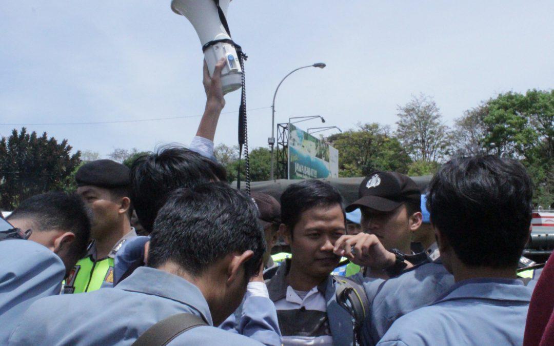 Ditindak Represif, Presma UPI: Kami Akan Usut Tindak Represif Aparat