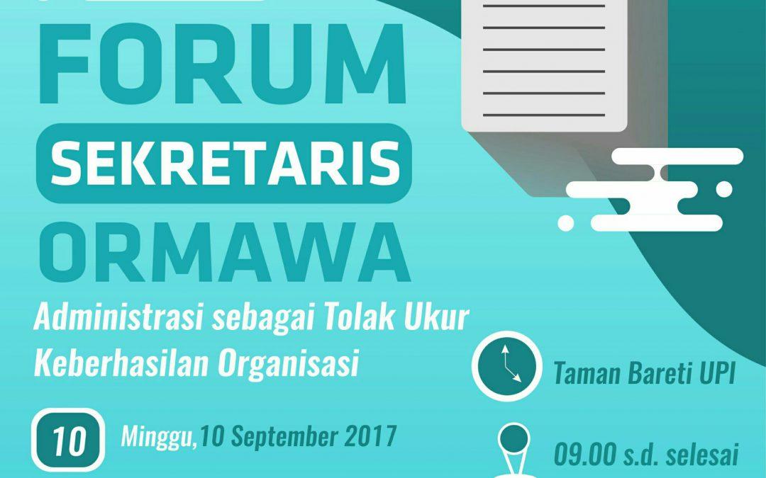 Forum Sekretaris Ormawa