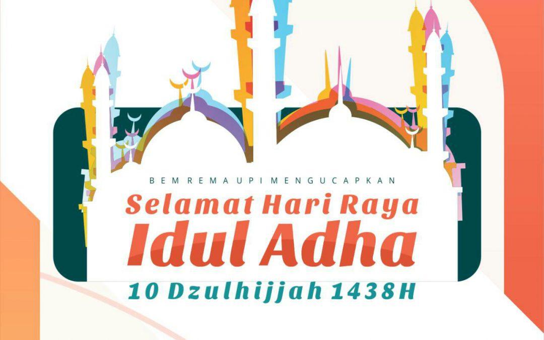 Selamat Idul Adha 1438 H